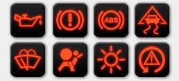 Image result for lights on on dash