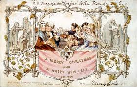 traditions   a christmas essay  the colonial williamsburg  the second mass produced christmas and new years card in