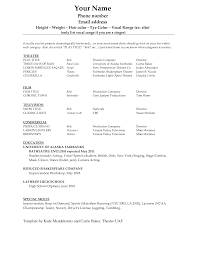Resume Template  Free Blank Resume Templates Download Template Cv
