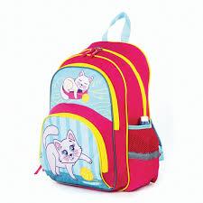Рюкзак <b>ПИФАГОР</b>+ для учениц начальной школы, Котенок ...
