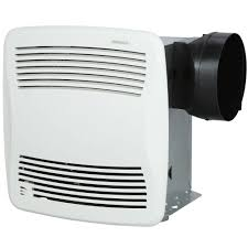 sensing bathroom fan quiet: broan qtx series very quiet  cfm ceiling humidity sensing bath fan energy star qualified