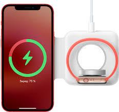 Как использовать двойное зарядное устройство <b>MagSafe</b> с ...