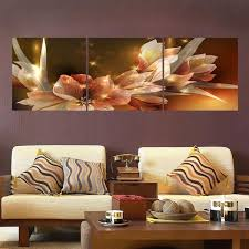 2019 Unframed 3 Panel Modern Canvas Oil Painting <b>Wall Pictures</b> ...