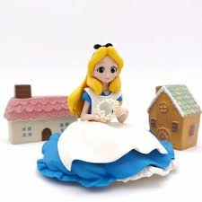 NEW Disney <b>Princess Alice</b> In Wonderland Figures Toys <b>Cake</b> ...