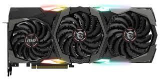 <b>Видеокарта MSI GeForce RTX</b> 2080 1515MHz PCI-E 3.0 8192MB ...