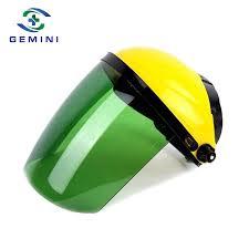 China PC <b>Visor Adjustable Transparent</b> Headgear Protective Face ...