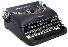 「昔の英文タイプライター」の画像検索結果