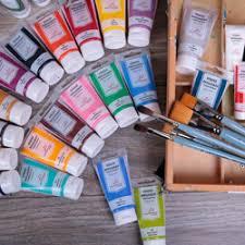 Купить акриловые краски: цены в интернет-магазине Леонардо