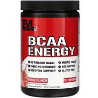 EVLution Nutrition, <b>BCAA Energy</b>, <b>арбуз</b>, <b>10</b>,<b>2</b> унц. (288 г) - iHerb