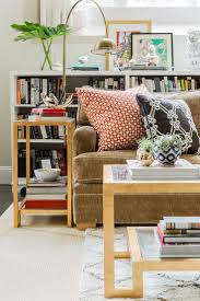 Living Room With Bookcase 17 Best Ideas About Bookcase Behind Sofa On Pinterest