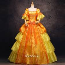 popular th century dress costume buy cheap th century dress gold 18th century rococo baroque cosplay costume marie antoinette gown dresses mainland