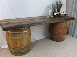 wine barrel affordable patio furniture rustic wine barrel bar table barrel office barrel middot