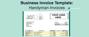 business invoice template handymen invoices invoiceberry blog business invoice template handymen invoices
