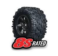 Колеса в сборе <b>X</b>-<b>Maxx black</b> wheels + <b>Maxx</b> AT tires левое и ...