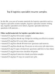 toplogisticsspecialistresumesamples conversion gate thumbnail jpg cb