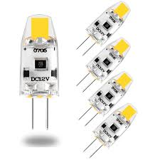 5PCS Mini <b>G4 LED</b> Bulb Dimmable <b>12V</b> DC <b>COB LED G4</b> Light Bulb ...