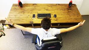 building the ultimate office episode 2 my custom desk youtube build office desk
