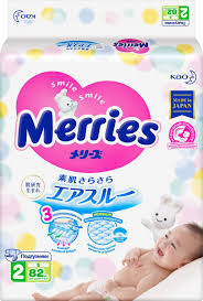 <b>Merries Подгузники S 4</b>-<b>8 кг</b> 82 шт — купить в интернет-магазине ...