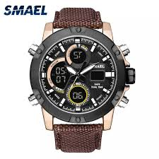 <b>SMAEL</b> New Sport Watches Waterproof Genuine <b>Dual</b> Display ...