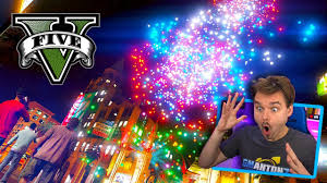 BIGGEST <b>GTA</b> 5 <b>New Years</b> Eve Fireworks Display!