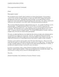 donation cover letters template donation cover letters