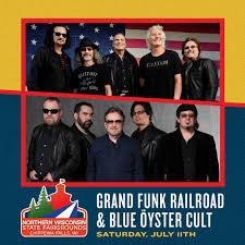 Grand Funk Railroad & <b>Blue Oyster Cult</b>