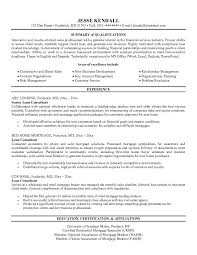 free loan consultant resume exampleclick here