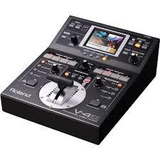 Видеомикшер Roland V-4EX, купить <b>аксессуар для концертного</b> ...