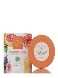 Натуральное мыло Инжир и грейпфрут 100 г <b>VEGETABLE</b> ...