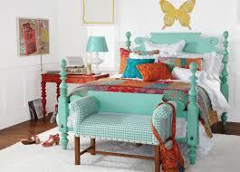 sleek boho bed decor boho chic furniture