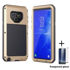 luxury metal armor case for oneplus 7 glass back cover one plus aluminum bumper pro oneplus7 ks0209