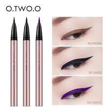 <b>O</b>.<b>TWO</b>.<b>O Professional Waterproof Liquid</b> Eyeliner Black Long ...