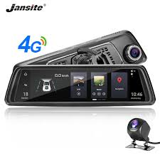 "<b>Jansite 4G 10</b>"" <b>Touch</b> Screen Car DVR Dash Cam Android 5.0 GPS ..."