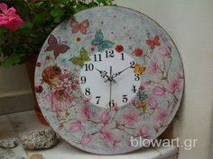 Pin by Nina Kovac on <b>Clocks</b> | Decoupage, Home decor, Decorative ...