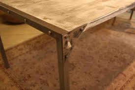 circle dining table luxury reclaimed