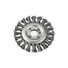 Кордщетка <b>Kwb плоская 115мм</b> для УШМ витая сталь (7195-30 ...