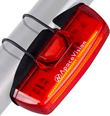 Bike Tail Light USB Rechargeable by Apace - Super ... - Amazon.com
