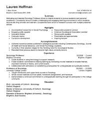 best professor resume example livecareer create my resume