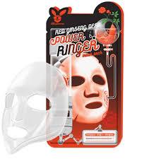 <b>Тканевая маска</b> Elizavecca Red Ginseng Deep Power Ringer Mask ...