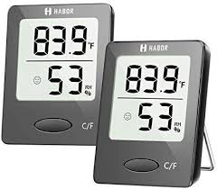 Habor Thermometer Indoor (2 Pack), Superior Mini ... - Amazon.com