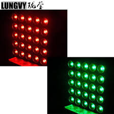 Free Shipping <b>2pcs</b>/<b>Lot</b> Stage Blinder 25X30W <b>RGB 3in1 Led</b> Matrix ...