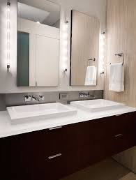 bathroom decor double sink floating vanity wall mirrors wall mounted lights bathroom lighting ideas double