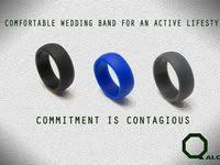7 Best QALO images | qalo, <b>silicone</b> wedding <b>band</b>, qalo ring