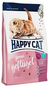 Купить <b>Сухой корм</b> для котят <b>Happy</b> Cat Юниор с птицей, 300 г с ...