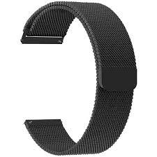 <b>Ремешок</b> для умных <b>часов Lyambda</b> Capella 22 мм, черный (DS ...