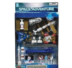 <b>Space Adventure</b> Set Toy Centerpiece Cake Decorations Gift ...