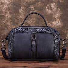 <b>High Quality</b> Genuine Leather Women <b>Cowhide Top</b> Handle Bags ...