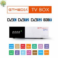 <b>GTmedia GTC</b> Satellite TV Receiver <b>DVB</b>-S2 <b>DVB</b>-<b>C DVB</b>-<b>T2</b> ...