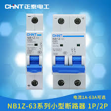 <b>CHINT</b> NB1Z 63 1P 2P DC Circuit Breaker ( DC <b>MCB</b> Mini Circuit ...