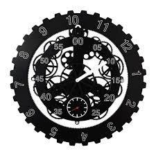 18 Inch <b>Creative Gear Wall</b> Clock Modern Design Living Room ...